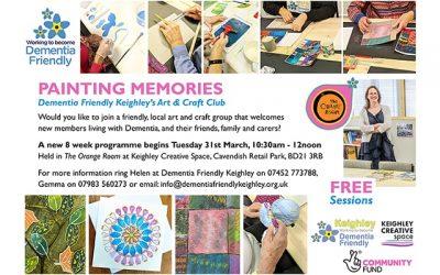 Arts & Craft Club – New 8 Week Programme!