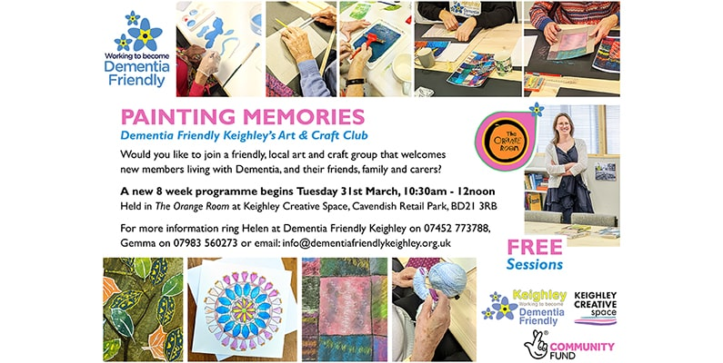 Arts & Craft Club – New 8 Week Programme!