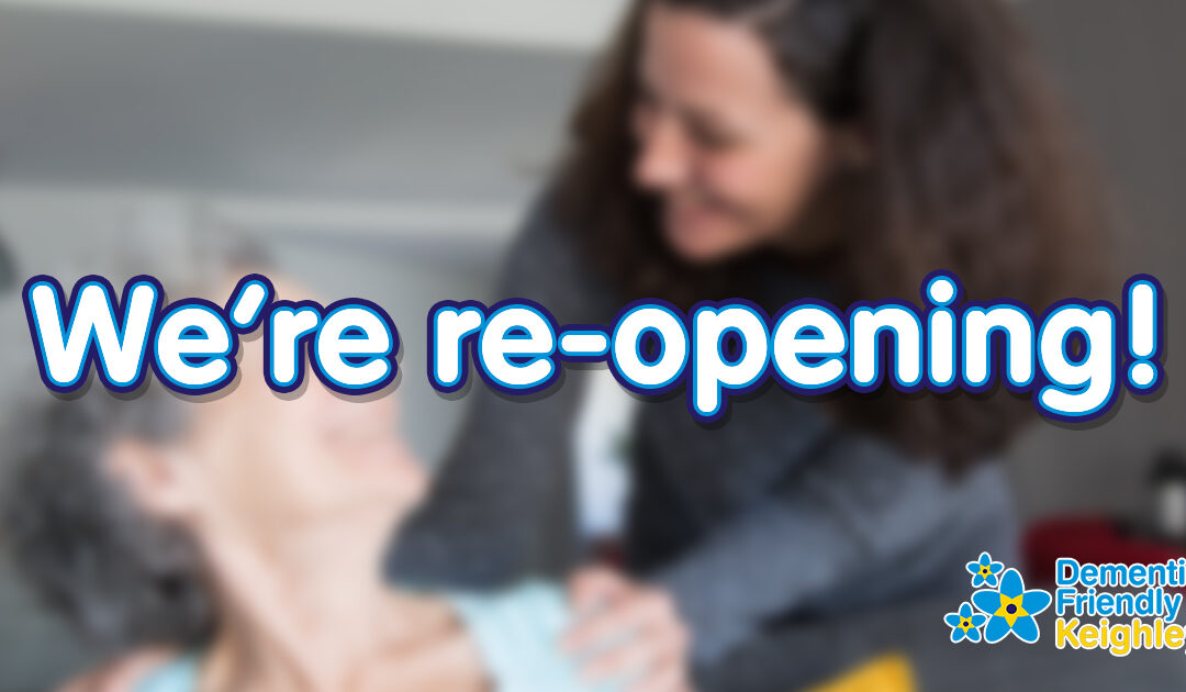 We're Re-Opening